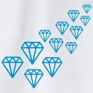 Diamond Design T-shirts - Gymtas