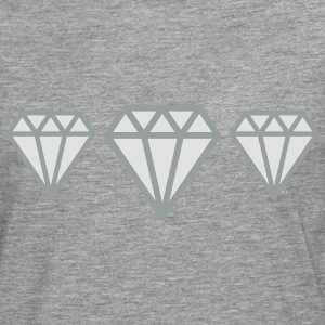Diamonds T-Shirts - Men's Premium Longsleeve Shirt