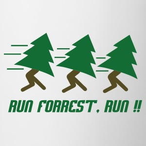 Wit Run Forrest, Run T-shirts - Mok