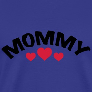 Mom / Mommy / Mama / Herz / i love my mom 2c Hoodies - Men's Premium T-Shirt
