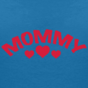 Mom / Mommy / Mama / Herz / i love my mom 1c Accessories - Women's V-Neck T-Shirt