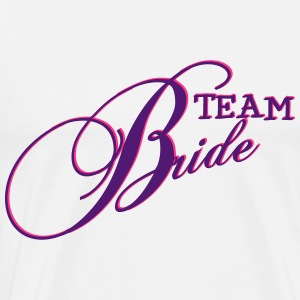 Team Bride / Team Braut / JGA 2c Hoodies & Sweatshirts - Men's Premium T-Shirt