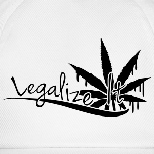 Legalize It Weed T-Shirts - Baseball Cap
