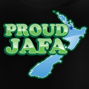 Proud JAFA with New Zealand Map   Shirts - Baby T-Shirt
