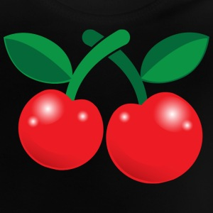 cute little red cherries Shirts - Baby T-Shirt