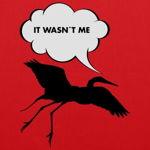 It Wasn´t Me T-Shirts - Stoffbeutel