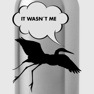 It Wasn´t Me T-Shirts - Trinkflasche
