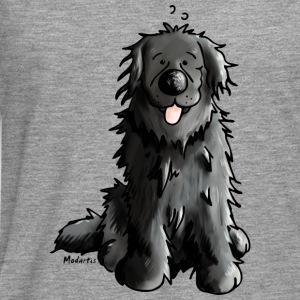 Newfoundland - Dog - Dogs - Newfi - Newf - Cartoon Shirts - Men's Premium Longsleeve Shirt