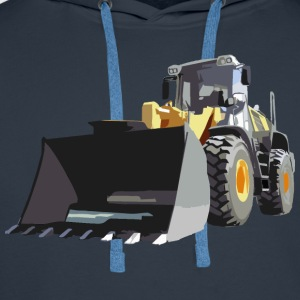 wheel loader T-Shirts - Men's Premium Hoodie