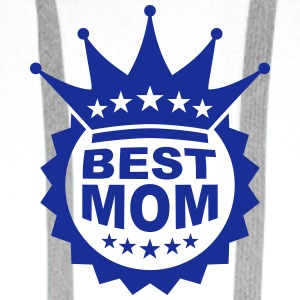Worlds Best Mom T-shirts - Premiumluvtröja herr