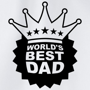 Worlds Best Dad T-shirts - Gymtas