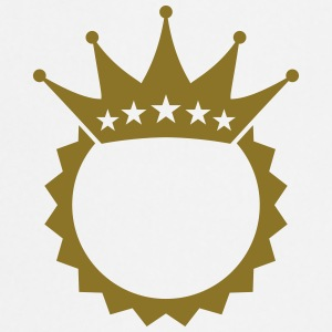 King Crown Design T-shirts - Förkläde