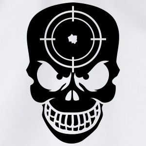 Evil Skull With Target T-shirts - Gymtas