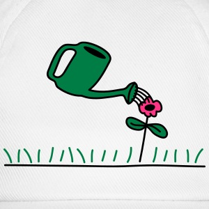 Watering Flower T-Shirts - Baseball Cap