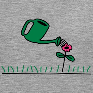 Watering Flower T-Shirts - Men's Premium Longsleeve Shirt