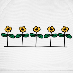Flowers Design T-shirts - Basebollkeps