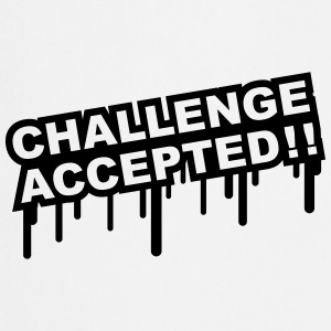 Challenge Accepted Graffiti T-Shirts - Cooking Apron