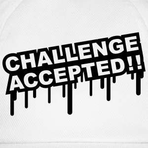 Challenge Accepted Graffiti T-Shirts - Baseball Cap