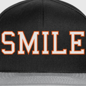 smile Sweat-shirts - Casquette snapback