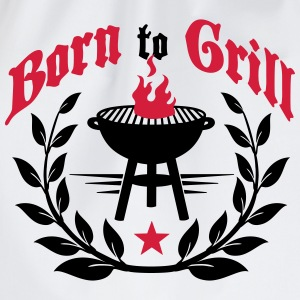Born to Grill T-Shirts - Drawstring Bag