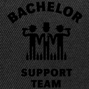 Bachelor Support Team (Stag Party) - Snapback Cap