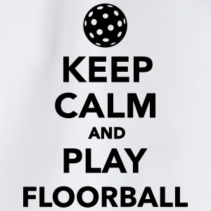 Keep calm and play Floorball Sonstige - Turnbeutel