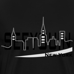 see you in - newyork Sweaters - Mannen Premium T-shirt