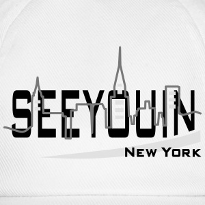 see you in - newyork T-Shirts - Baseballkappe