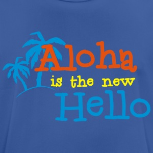 Aloha is the new Hello 3c Gensere - Pustende T-skjorte for menn