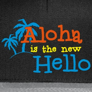 Aloha is the new Hello 3c Tassen & rugzakken - Snapback cap