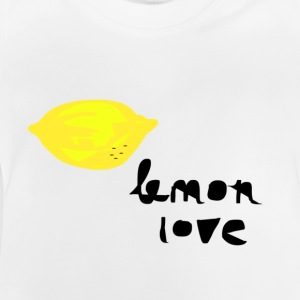 lemon love.png Shirts - Baby T-Shirt