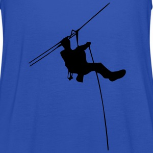 ropes course T-Shirts - Women's Tank Top by Bella