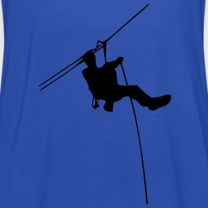 ropes course Shirts - Women's Tank Top by Bella