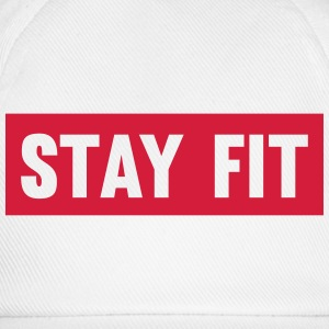 Stay Fit T-shirts - Baseballcap