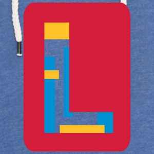 Letter L Shirts - Light Unisex Sweatshirt Hoodie