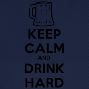 keep_calm_and_drink_hard T-Shirts - Baseballkappe