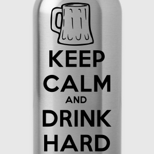 keep_calm_and_drink_hard T-shirts - Drinkfles