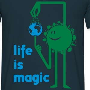 life_is_magic Sweat-shirts - T-shirt Homme