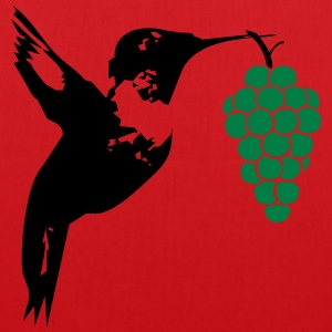 Hummingbird brings grapes  T-Shirts - Tote Bag