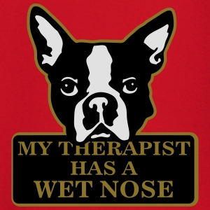 My therapist has a wet nose T-shirts - T-shirt