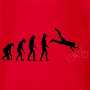 bmx evolution Shirts - Organic Short-sleeved Baby Bodysuit