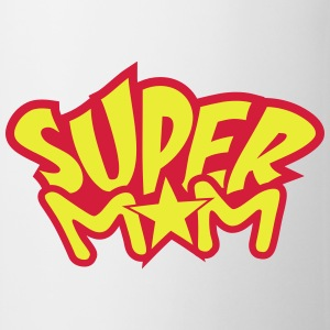 Super Mom T-shirts - Mugg