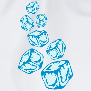 Ice Cubes Design T-Shirts - Turnbeutel