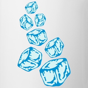 Ice Cubes Design T-shirts - Mugg