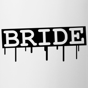 Bride Graffiti Design T-shirts - Mugg