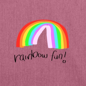 rainbow fun.png Accessories - Shoulder Bag made from recycled material