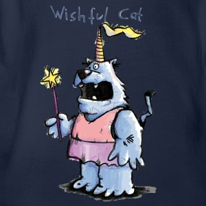 Wishful Cat Barn-T-shirts - Ekologisk kortärmad babybody