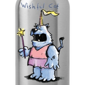 Wishful Cat T-shirts - Vattenflaska