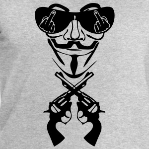 anonymous masque mask lunette fuck pist9 Tee shirts - Sweat-shirt Homme Stanley & Stella
