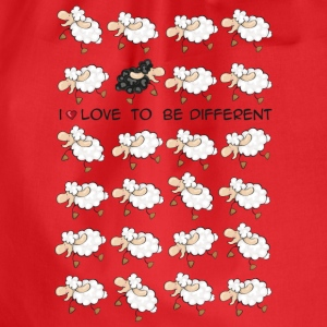 I love to be different T-Shirts - Drawstring Bag